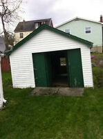 looking to have garage torn down