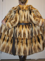 Stunning real Fitch Mink Canadian made Women's coat. NEVER WORN
