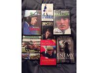 7 Horse Racing Biographies/Books.