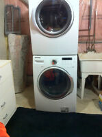 Awesome Deals Moving Sales SAMSUNG  Front load Washer& Dryer