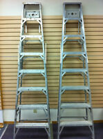 8 foot aluminum step ladder
