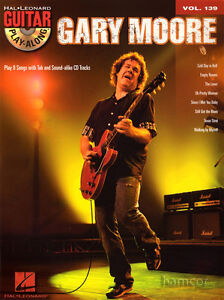 Gary Moore Guitar Play-Along Volume 139 TAB Book with CD Blues Jam Learn to Play