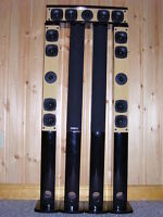 Complete 5.1 Mini-tower home theater speaker system