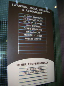Directory Boards, In-out Boards, Custom Designed Kitchener / Waterloo Kitchener Area image 2