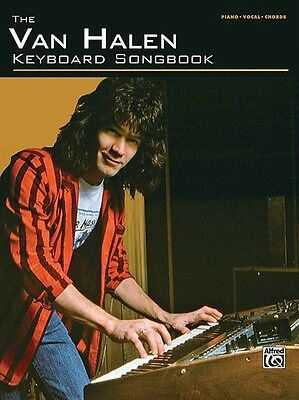 The Van Halen Keyboard Songbook Sheet Music Piano Vocal Guitar Songboo 000322058