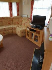 8 Berth Caravan 3 Bedrooms 1 double 2 twin and a pull out bed. The Summerlands,Ingoldmells Skegness