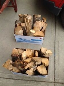 Boxed firewood