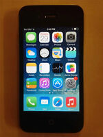 IPHONE 4S 16GB (BELL,VIRGIN) GOOD CONDITION INCLUDING CHARGER AN