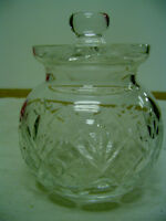 Royal Doulton Crystal Glass Bowl with Lid