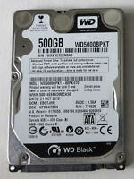 "Hard drive WD 500 Gb 7200rpm 2.5"" for laptop"