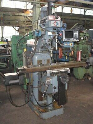 Fv-1 Clausingkondia Proto-trak Cnc Turret-type Vertical Mill - 28979