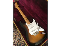 Tokai TST 50 Goldstar two-tone Sunburst electric guitar ,Brand New+Tweed Case