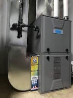 Professional installation of Furnaces and Air Conditioners.