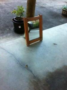 Timber Framed Wall Mirror