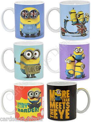 Despicable Me Minion Boxed Mug Mugs Tea Coffee Ceramic Bob Stuart Dave Kevin