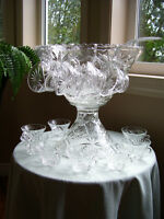Vintage Punch Bowls - 50's 60's - great for spring/summer weddi