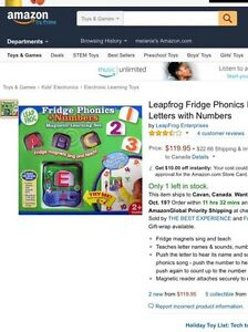 Leap frog fridge phonics magnetic letters with numbers  Peterborough Peterborough Area image 3