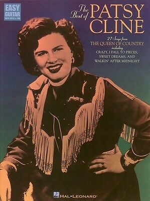 The Best of Patsy Cline Sheet Music Easy Guitar Book NEW 000702053