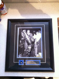 Toronto Maple Leafs Signed Eddie Shack 8x10 framed photo w COA
