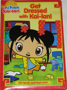 Ni Hao Kai Lan Get Dressed BOARD Book London Ontario image 1
