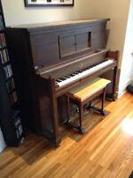 Piano Willis incluant livraison régulière et locale