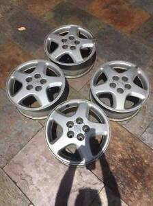"""4 mag wheels 16"""" for Nissan Bluebird Roleystone Armadale Area Preview"""