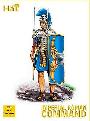 HAT 8075 1/72 Roman Command Set 44 Plastic Toy Soldier Figures](Toy Soldier Hat)