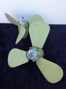 Pair of Autostream feathering propellers - excellent condition Coomera Gold Coast North Preview