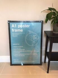 Brand New A1 Black Poster Frame (RRP £29.99)