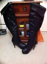 Black Platform High Heel Boots Size7 New $130. East Cannington Canning Area Preview
