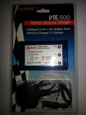 Intelligent LiPo / LiFe Balance Charger Kit UK Plug  Airsoft and Model Batteries