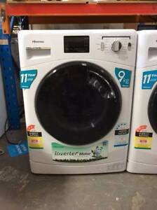 HISENSE 9KG FRONT LOAD WASHING MACHINE WITH 12 MONTH WARRANTY Glenroy Moreland Area Preview