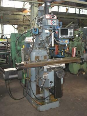 Clausing Kondia Cnc Vertical Mill With Prototrak A.g.e. 2