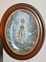 Our Lady of Lourdes Plate