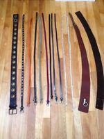 Brand new - 13 belts. Small and medium
