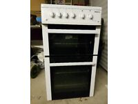 Excellent Condition 50cm Beko 4 Burner Gas Cooker With Double Oven Can Deliver