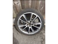 Vauxhall vxr 19inch alloy wheel