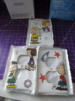 Charlie Brown Light Switch Plate & Outlet Covers Set