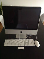 Super prix !! iMac 20 pouces en parfait état.