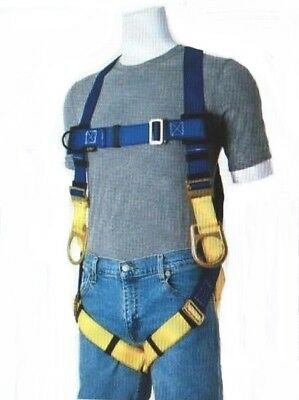 Gemtor 922h-2 Fall Protection Fire Rescue Universal Safety Harness W Hip Ds