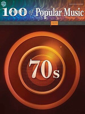 70s Sheet Music 100 Years of Popular Music Piano Vocal Guitar SongBook 000321486