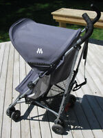 MacLaren Volo stroller / poussette - seat liner and travel bag