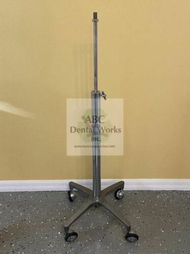 """Portable Nitrous System Stand 33"""" - 45"""" Adjustable w 5/8"""" Fine Thread Post"""