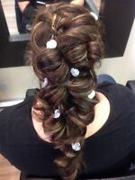 Prom-Wedding-Special occasion hairstyling atminimum price!