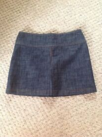 LADIES DENIM SKIRT SIZE 10