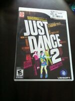 Wii Just Dance 2 game/dvd