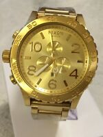 *** selling 5 month old gold plated nixon watch***