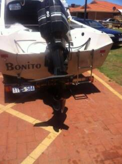 Swiftcraft 16ft 5m boat half cabin (Ready to go) Price to Sale Huntingdale Gosnells Area Preview