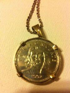 Cuban Coin Pendent