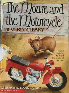 The Mouse and the Motorcycle Paper Back Book